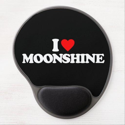 I LOVE MOONSHINE GEL MOUSE MATS
