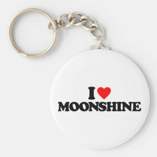 I LOVE MOONSHINE KEY RING