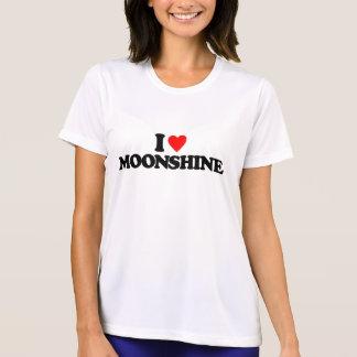 I LOVE MOONSHINE TEE SHIRTS