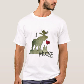 I love moose front T-Shirt