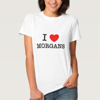 I Love Morgans (Horses) Tshirt