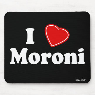 I Love Moroni Mouse Pad