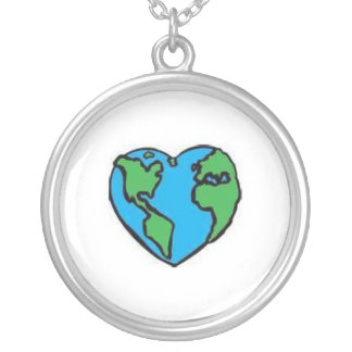 I love Mother Earth necklace