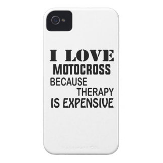 I Love Motocross Because Therapy Is Expensive iPhone 4 Case