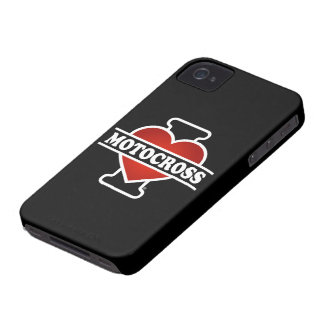 I Love Motocross iPhone 4 Cover