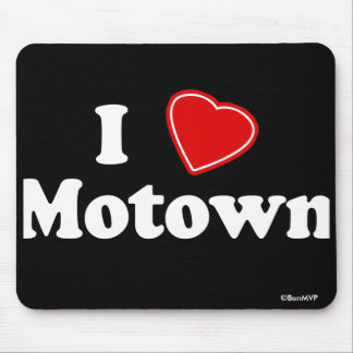 I Love Motown Mouse Pads