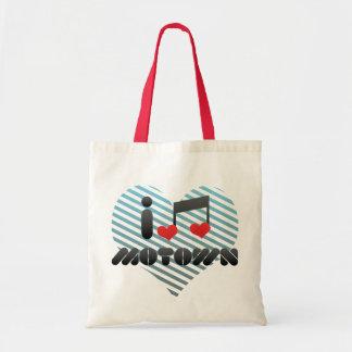 I Love Motown Tote Bag