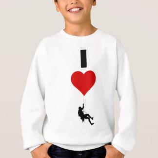 I Love Mountain Climbing (Vertical) Sweatshirt