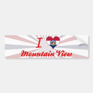 I Love Mountain View, Missouri Bumper Sticker