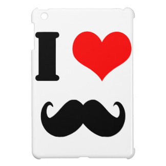 I love moustache iPad mini cover
