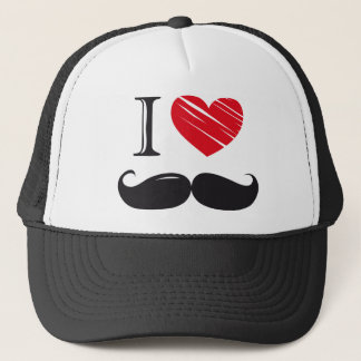 I Love MOUSTACHE Nr 1 Trucker Hat