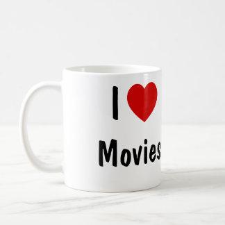 I Love Movies Coffee Mug