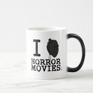 I Love Movies Horror Mug