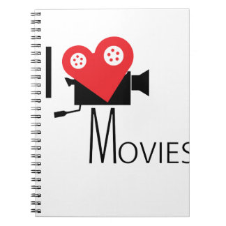 I LOVE MOVIES NOTEBOOK