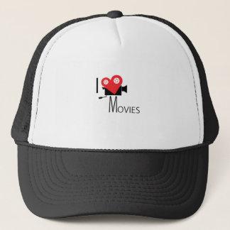 I LOVE MOVIES TRUCKER HAT
