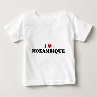 I Love Mozambique Baby T-Shirt