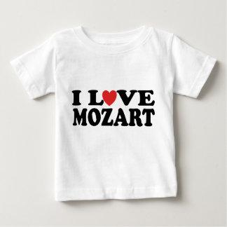 I Love Mozart Baby T-Shirt