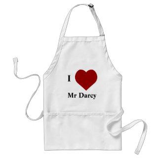 I love Mr Darcy Standard Apron