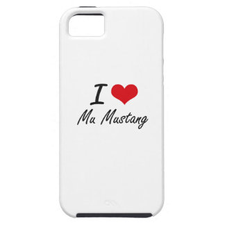 I Love Mu Mustang iPhone 5 Cases