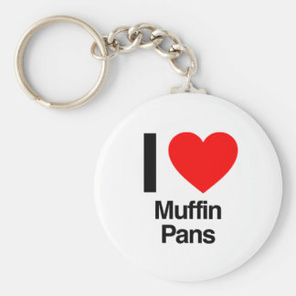 i love muffin pans key ring