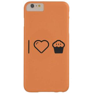 I Love Muffins Barely There iPhone 6 Plus Case