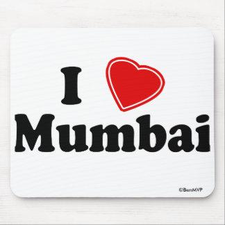 I Love Mumbai Mouse Pad