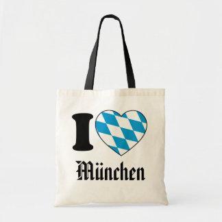 I Love Munich, Bavaria, Germany Tote Bag