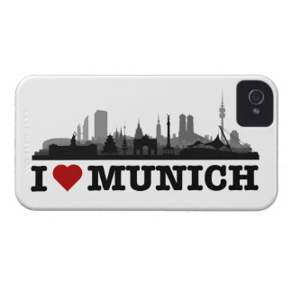 i love Munich city of skyline - Blackberry bowl