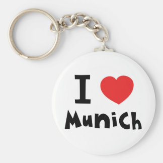 I love Munich Key Chain