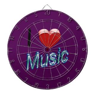 I Love Music 2 Dart Boards