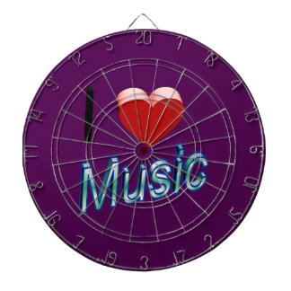 I Love Music 2 Dartboard