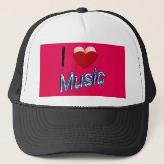 I Love Music 2 Trucker Hat