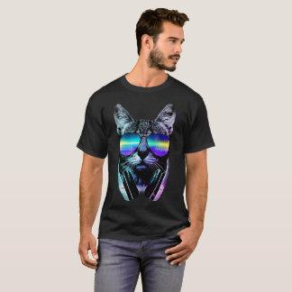 I Love Music Cat T-Shirt