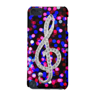 I Love Music G-clef iPod Touch 5G Cases