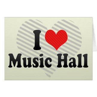 I Love Music Hall Cards