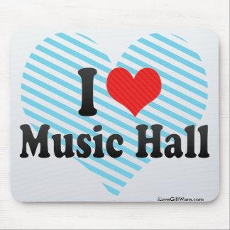 I Love Music Hall Mouse Pad