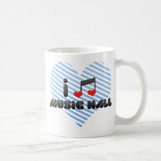 I Love Music Hall Coffee Mug