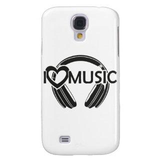 I love music headphones galaxy s4 cases