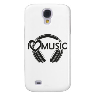 I love music headphones galaxy s4 covers