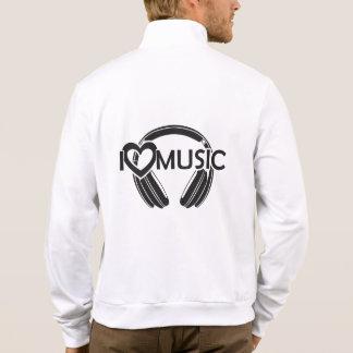 I love music headphones jacket