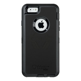 I love music headphones OtterBox iPhone 6/6s case