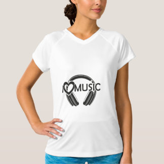 I love music headphones T-Shirt