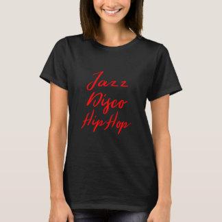 i love music jazz hiphop disco music lover tshirt
