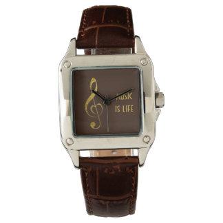 I love music - jewelry watch