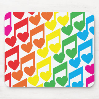I love Music Mousepad
