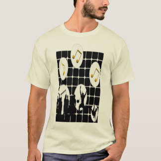 i love music music lovers t-shirt design