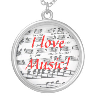 I love Music Pendant