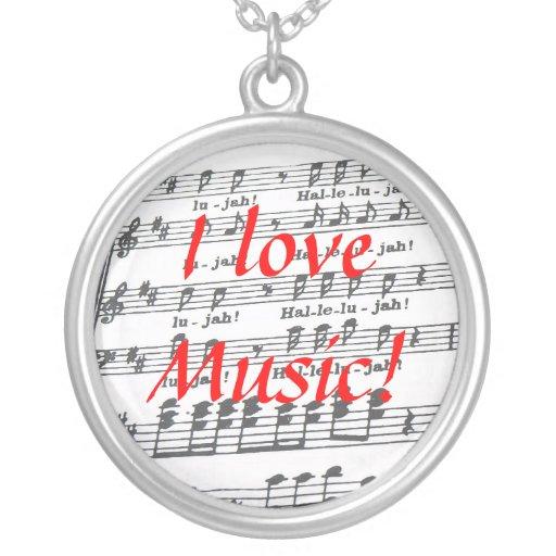I love Music! Pendant