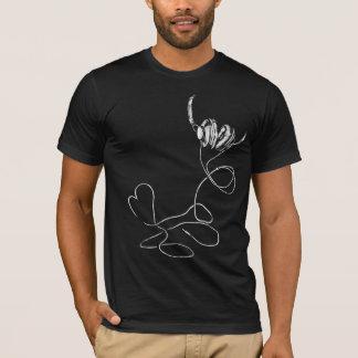 I love music Only for Black Tshirt (T16)
