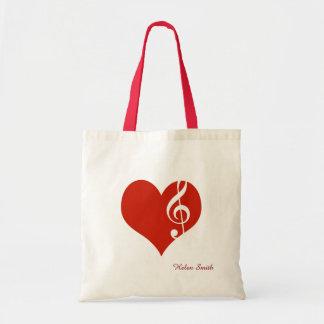 i love music / red heart